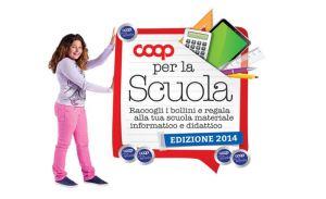 logo del progetto 'Coop per la Scuola'
